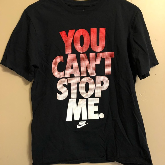 i can't nike shirt